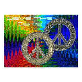 Peace Symbol Card