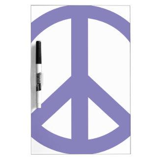 Peace Symbol CND Dry-Erase Board