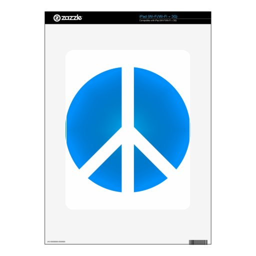 Peace_Symbol Decal For iPad