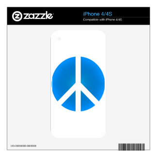 Peace_Symbol Decal For The iPhone 4