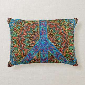 Peace Symbol Decorative Pillow