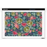 Peace Symbol Design Skins For Laptops