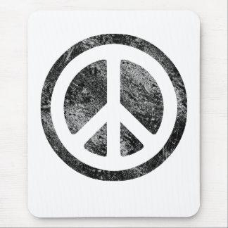 Peace Symbol-Dissd Mouse Pad