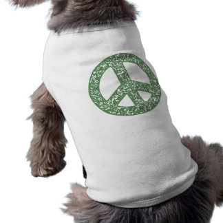 Peace Symbol -dist-stamp Shirt
