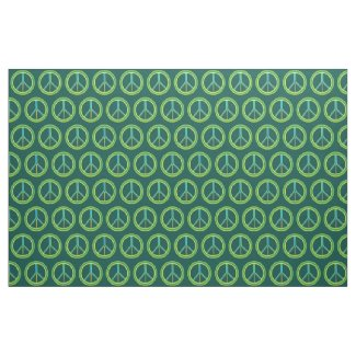 Peace Symbol Fabric