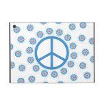 Peace Symbol, Flowers iPad Mini Case