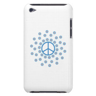 Peace Symbol Flowers iPod Touch Case