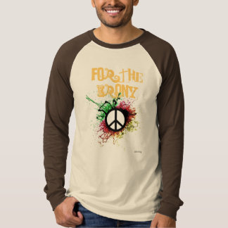 peace symbol, For The Irony - Customized T-shirt