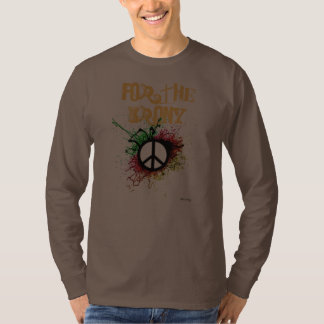 peace symbol, For The Irony Shirt