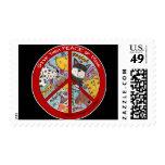 Peace Symbol-Humane Postage
