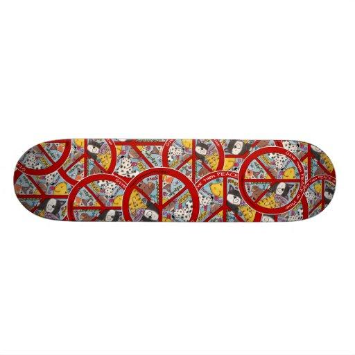 Peace Symbol-Humane Skate Boards