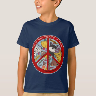 Peace Symbol-Humane T-Shirt