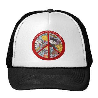 Peace Symbol-Humane Trucker Hat