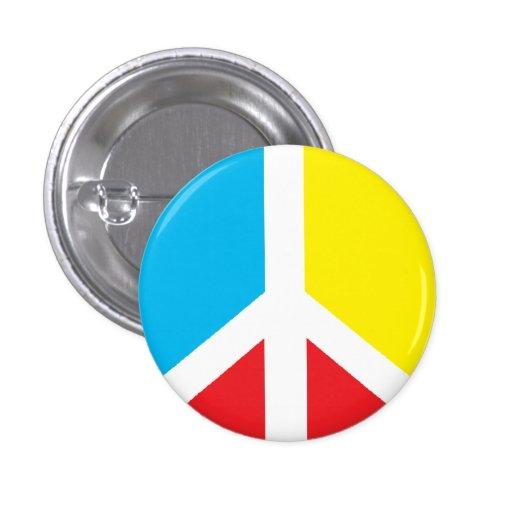 Peace Symbol Mini-button Pinback Button