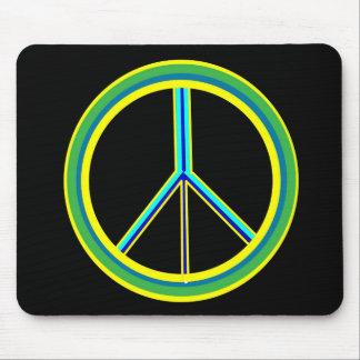 Peace Symbol Mousepads