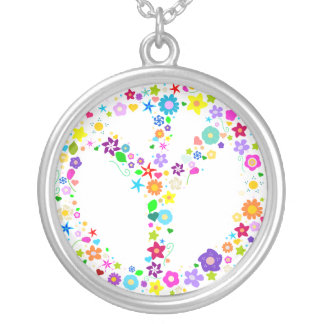 Peace Symbol Necklace - Inverted