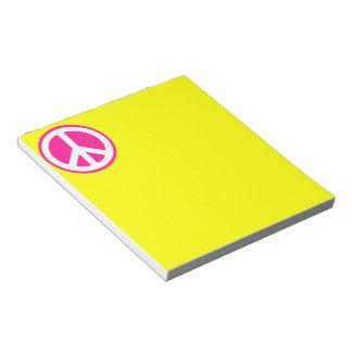 Peace Symbol Notepad