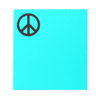 Peace Symbol Notepad