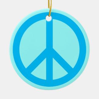 Peace Symbol Ornament