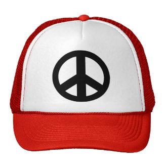 Peace Symbol Peace Sign Trucker Hat