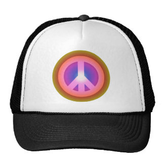 Peace symbol peace symbol hats