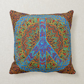 Peace Symbol Pillow