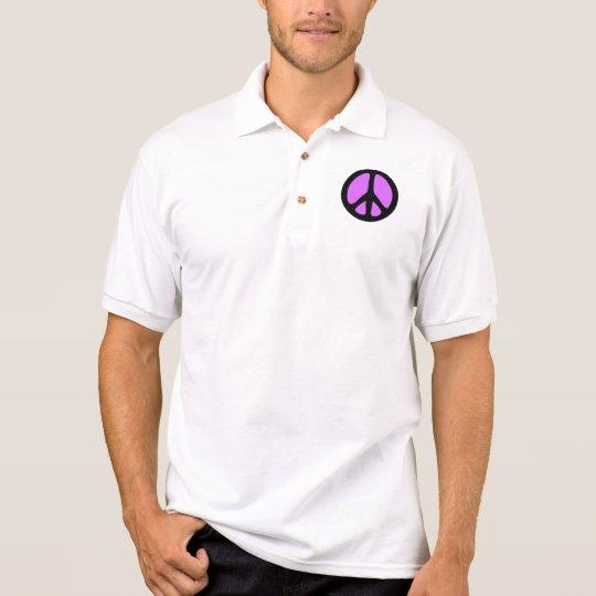 Peace Symbol Polo Shirt