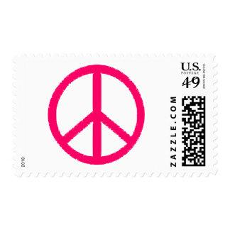 peace symbol stamp
