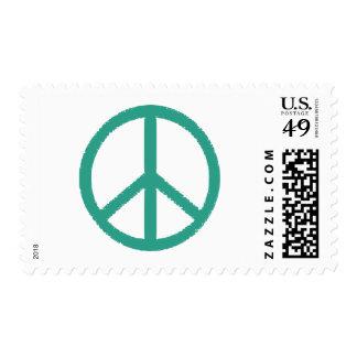 peace symbol postage stamp