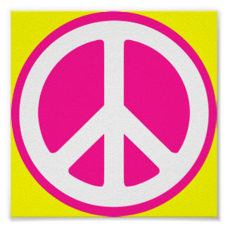 Peace Symbol Print