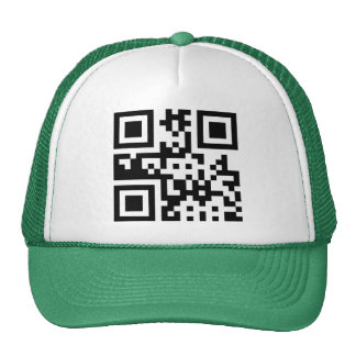Peace ☮ Symbol -- QR Code Trucker Hat