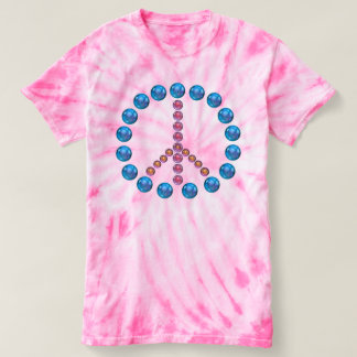Peace symbol sign Tie Dye Shirt