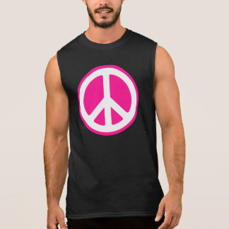 Peace Symbol Sleeveless Shirt