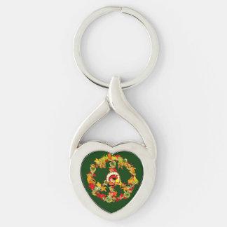 Peace Symbol Thanksgiving Turkey Key Chains