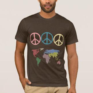 peace symbol world T-Shirt