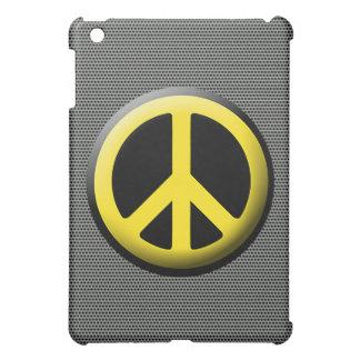 Peace Symbol (Yellow) Cover For The iPad Mini