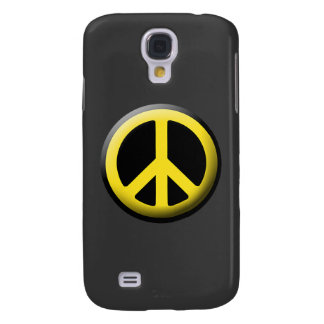Peace Symbol (Yellow) Galaxy S4 Covers