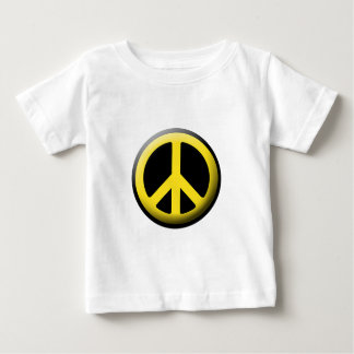 Peace Symbol (Yellow) Infant T-shirt