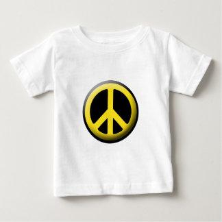 Peace Symbol (Yellow) Infant T-shirt