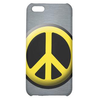 Peace Symbol (Yellow) iPhone 5C Cases