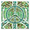 Peace Symbol, Yin Yang, Tree of Life in Green Photo Print (<em>$1.65</em>)
