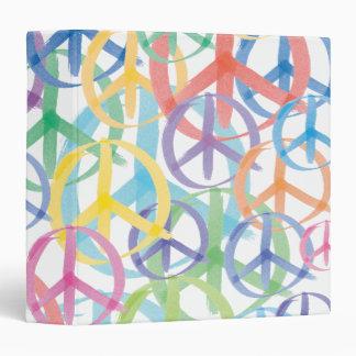 Peace Symbols Art Binder