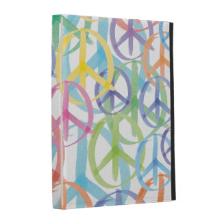 Peace Symbols Art iPad Case