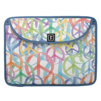 Peace Symbols Art MacBook Pro Sleeve