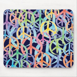 Peace Symbols Art Mousepad