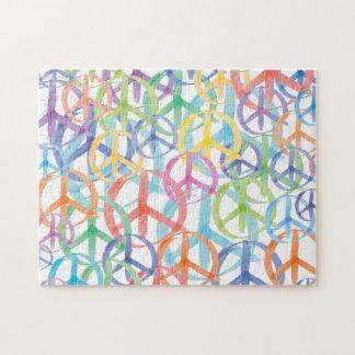 Peace Symbols Art Puzzles