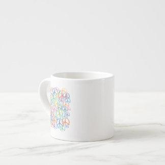 Peace Symbols Art Espresso Mug