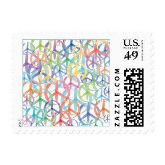 Peace Symbols Art Stamp