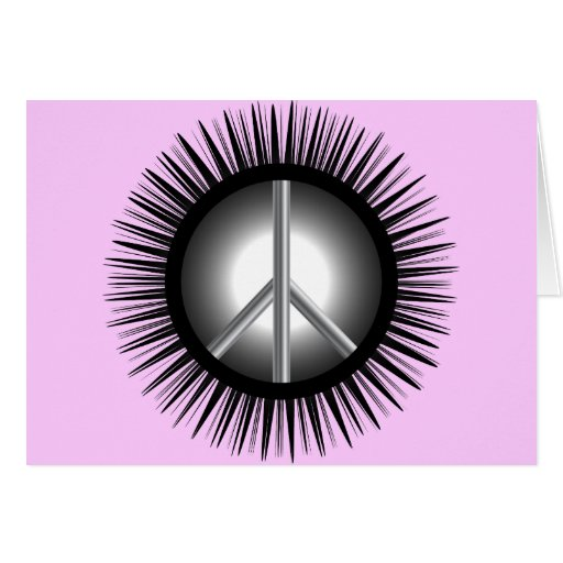 Peace Symbols Card