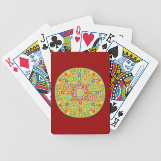 Peace Symbols Design Bicycle Playing Cards